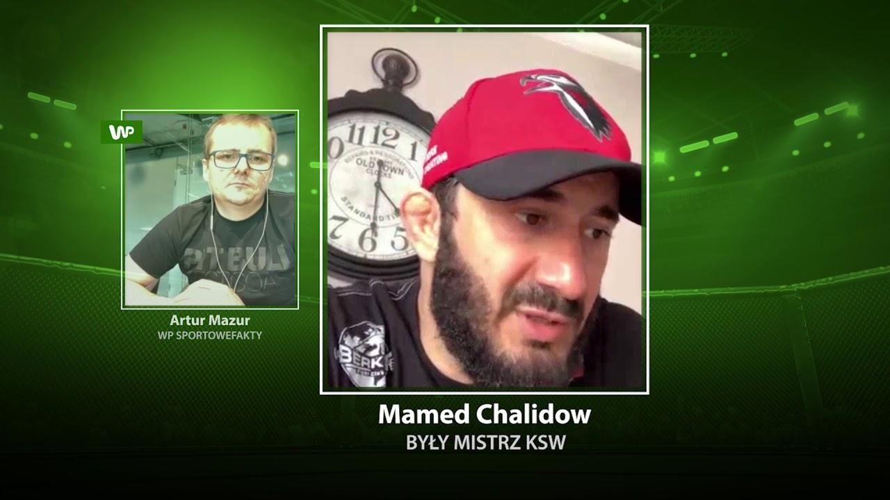 """Klatka po klatce"": dosadne słowa Mameda Chalidowa na temat Askhama i koronawirusa"