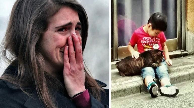Dziewczyna dała zabawkę niememu chłopcu. Po chwili nikt nie mógł powstrzymać łez