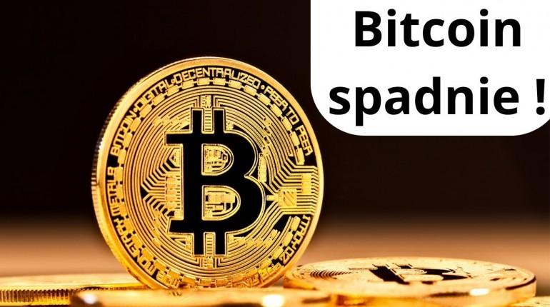 Bitcoin spadnie !  Prognoza BITCOINA 2020/2021