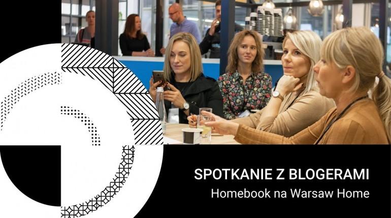 Homebook.pl - spotkanie z blogerkami na Warsaw Home
