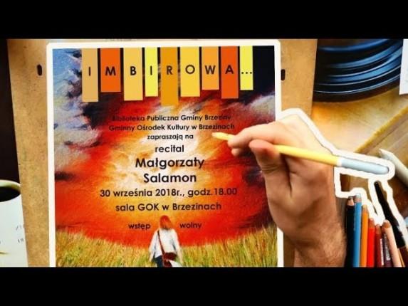 IMBIROWA, czyli zaproszenie na recital GOSI SALAMON
