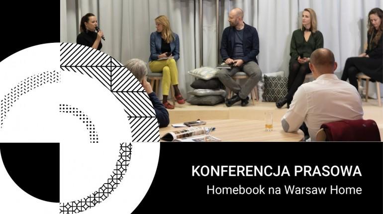 Konferencja prasowa Homebook.pl na Warsaw Home