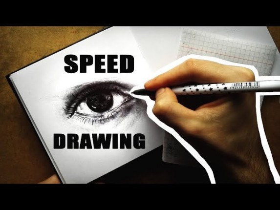 OCZY speed drawing DŁUGOPISEM