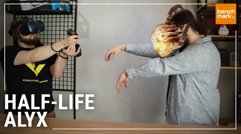 Przełomowa gra VR - graliśmy w Half-Life Alyx