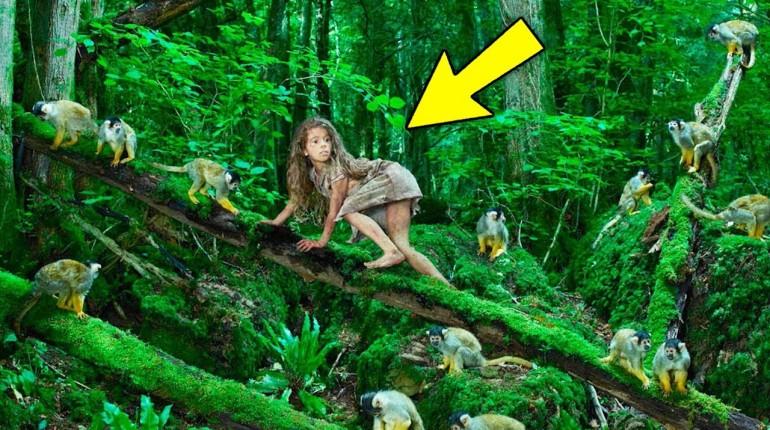 Ta dziewczynka została wychowana przez małpy. Zobacz jak teraz wygląda!