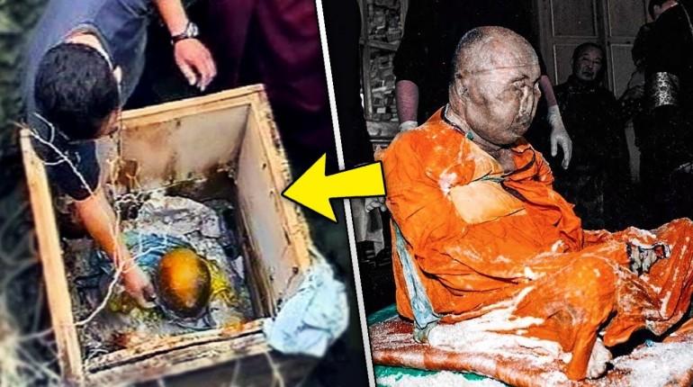 Mnich rozpoczął medytację, powiedział żeby go obudzić za 75 lat. Właśnie nadszedł ten moment