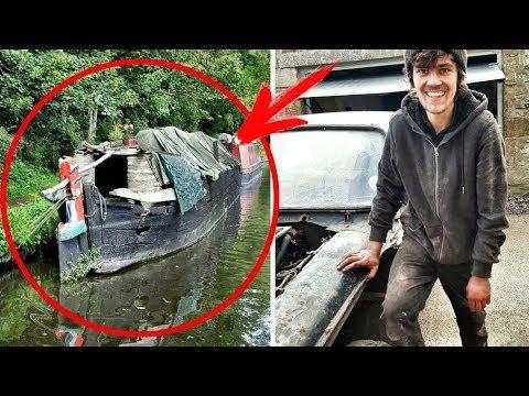 Kiedy Ten Chłopak Kupił Zardzewiałą Barkę, Wszyscy Uśmiechali się Pod Nosem. Później Byli Zaskoczeni