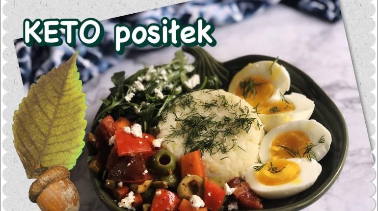 Ciepły posiłek (1) w 20 min. na  ? OBIAD lub kolację, DO PRACY ? - niskowęglowodanowy, KETO