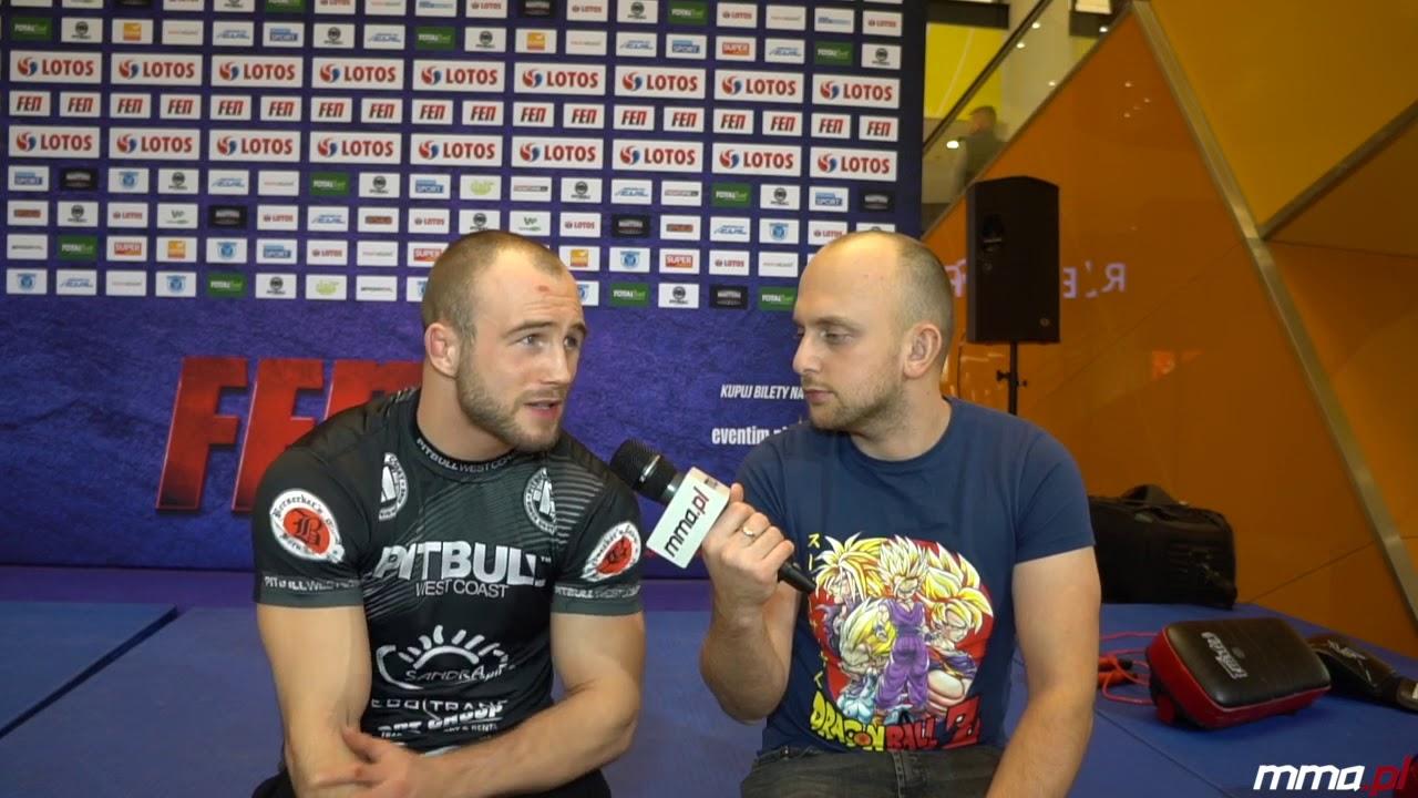 """Z FEN do UFC? Duża stawka walki Mateusza Rębeckiego. """"Porozmawiajmy, jak podpiszę kontrakt"""""""