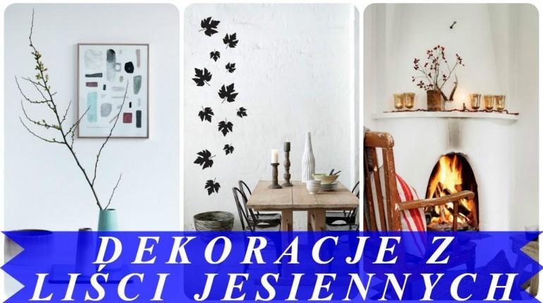 Ciekawe pomysły na jesienne dekoracje domu