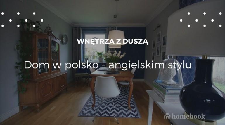 Dom w polsko - angielskim stylu #projekt wnętrz
