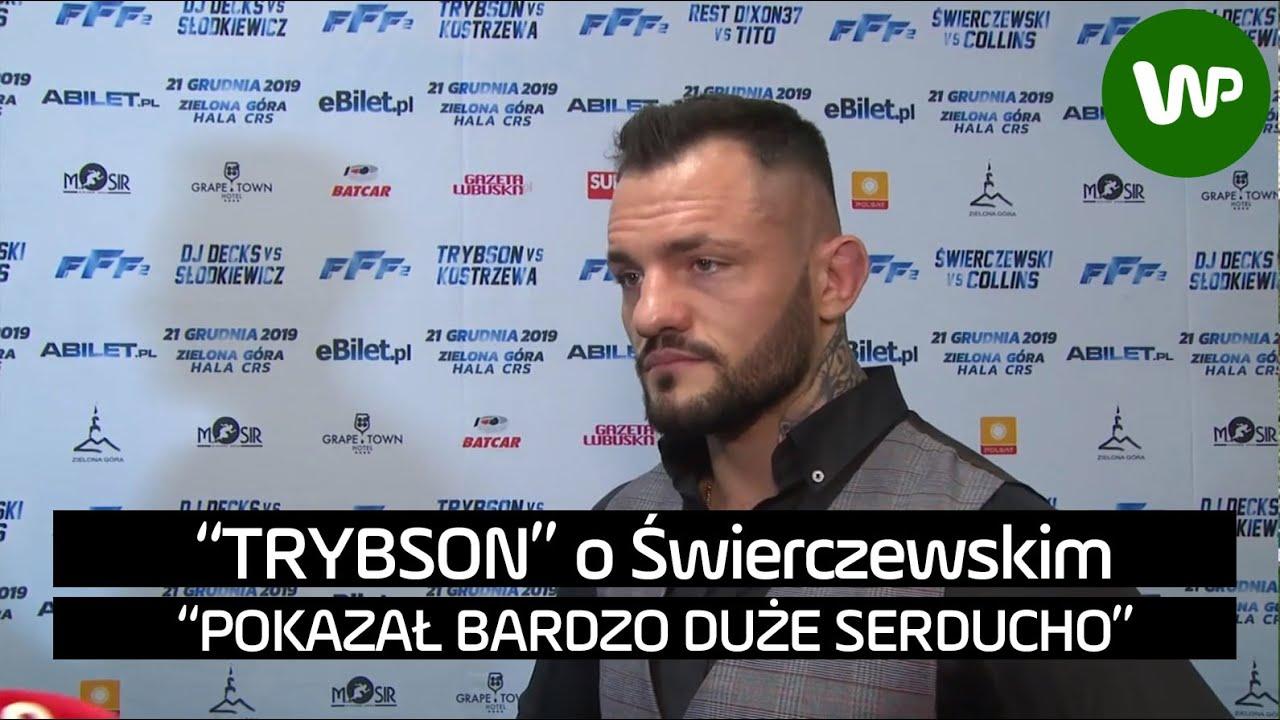 FFF. Trybson o debiucie Świerczewskiego w MMA