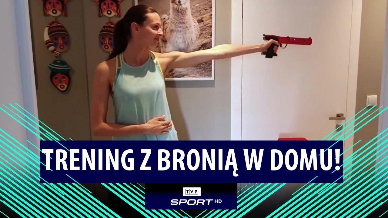Trening z BRONIĄ W DOMU! Tak radzi sobie medalistka igrzysk – Oktawia Nowacka