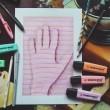 Jak narysować rękę 3D (speed drawing #14)