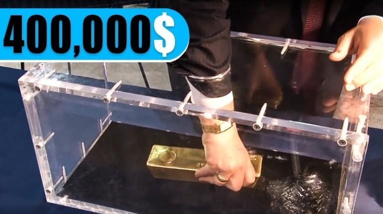 Jeśli wyciągniesz sztabkę złota, jest Twoja!