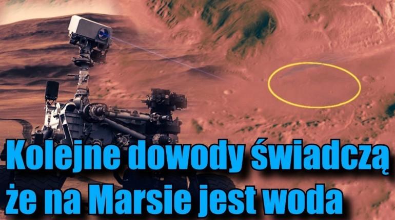 Łazik Curiosity natrafił na kolejne ślady wody na Marsie!