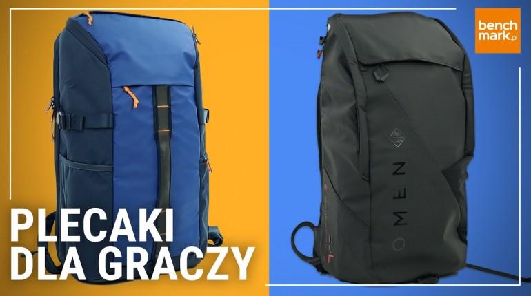 Omen Transceptor 15 i HP Pavilion Tech Backpack - plecaki gamingowe
