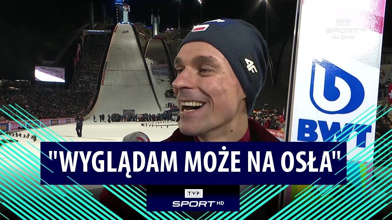 """""""Nie wyglądam na konia, może trochę na osła"""". Piotr Żyła po pierwszym konkursie TCS 2019/20"""