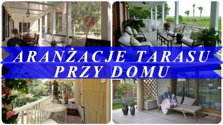 Piękne pomysł na ogrodzenie tarasu
