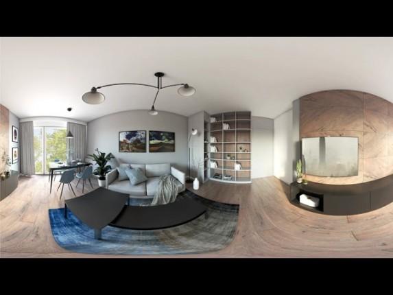 Projekt salonu w  360° VR