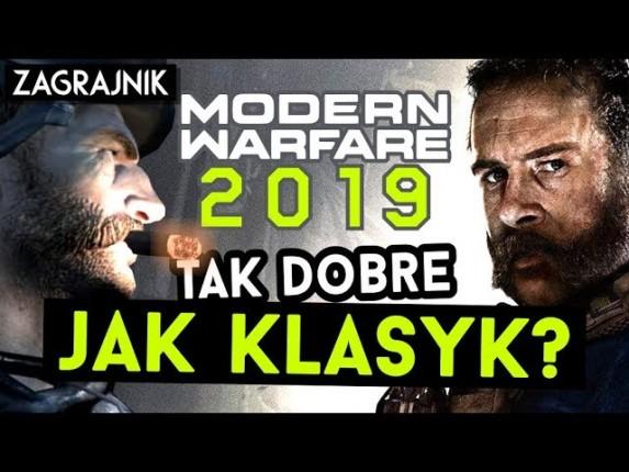 Recenzja Call of Duty: Modern Warfare 2019