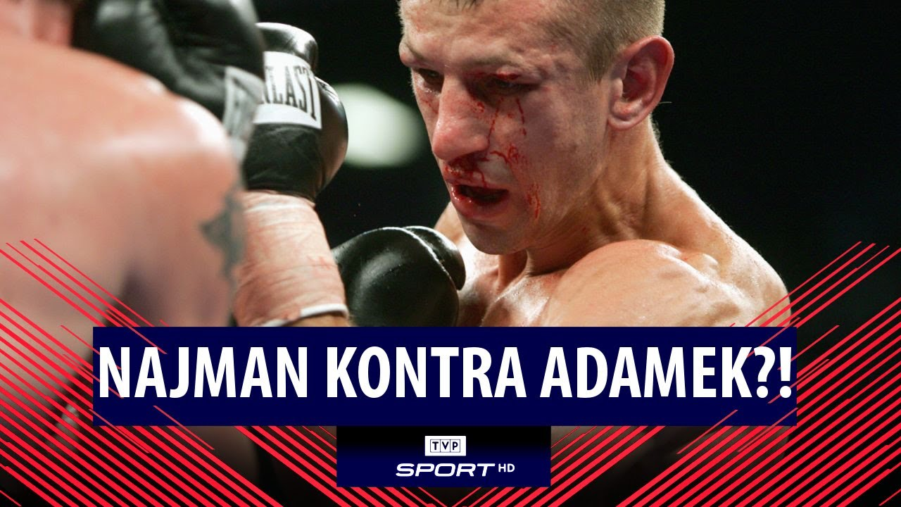 NAJMAN vs ADAMEK w klatce?! Medalista olimpijski i zawodnik MMA namawia do walki