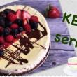 Sernik KETO / przepisy ketogeniczne, niskowęglowodanowe