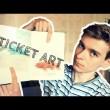 TICKET ART, czyli rysuję na BILETACH