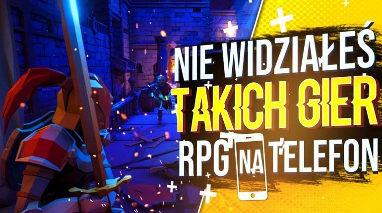 TOP20? FAJNE GRY RPG NA TELEFON 2020 (ANDROID&iOS)