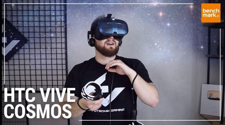 Wirtualna rzeczywistość z HTC VIVE Cosmos