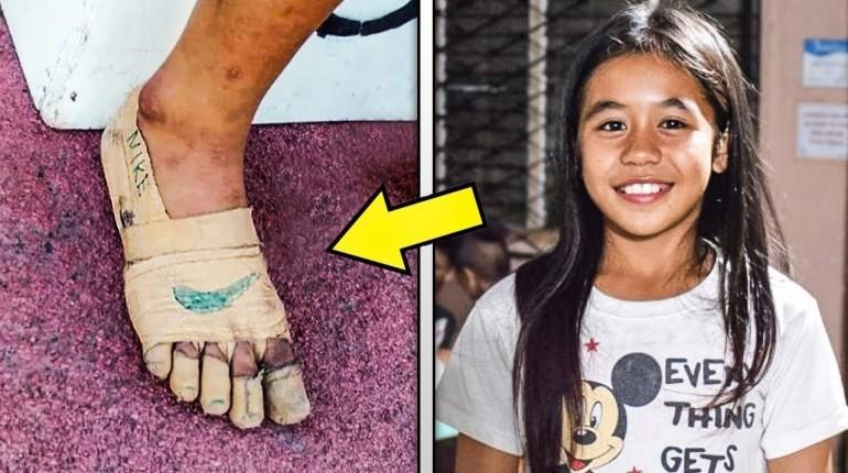 Wszyscy śmiali się z jej butów, to co stało się później zszokowało wszystkich