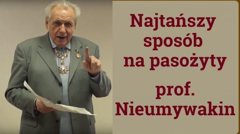 Pasożyty ludzkie. Jak zwalczyc robaki wodą utlenioną - prof. Nieumywakin. odc. 11