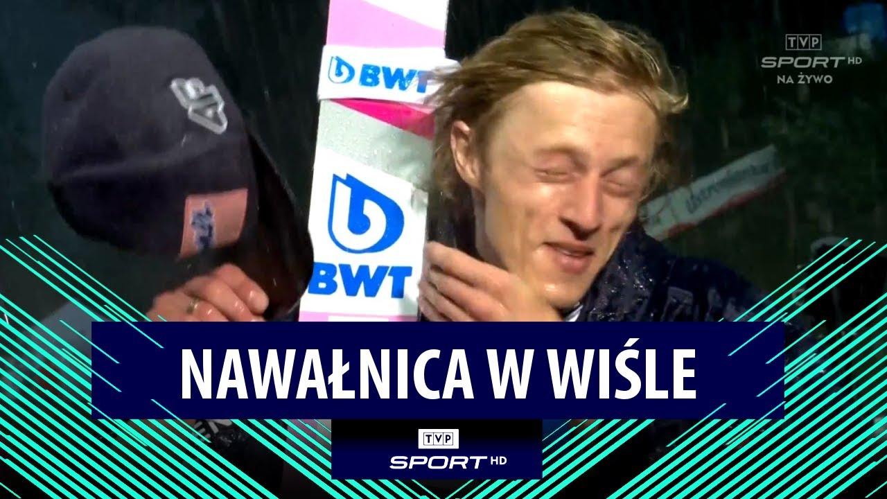 NAWAŁNICA podczas wywiadu z DAWIDEM KUBACKIM po wygranej w WIŚLE!