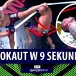 Wystarczyło 9 SEKUND! BRUTALNY nokaut w trakcie gali MMA RWC 5 w Mrągowie